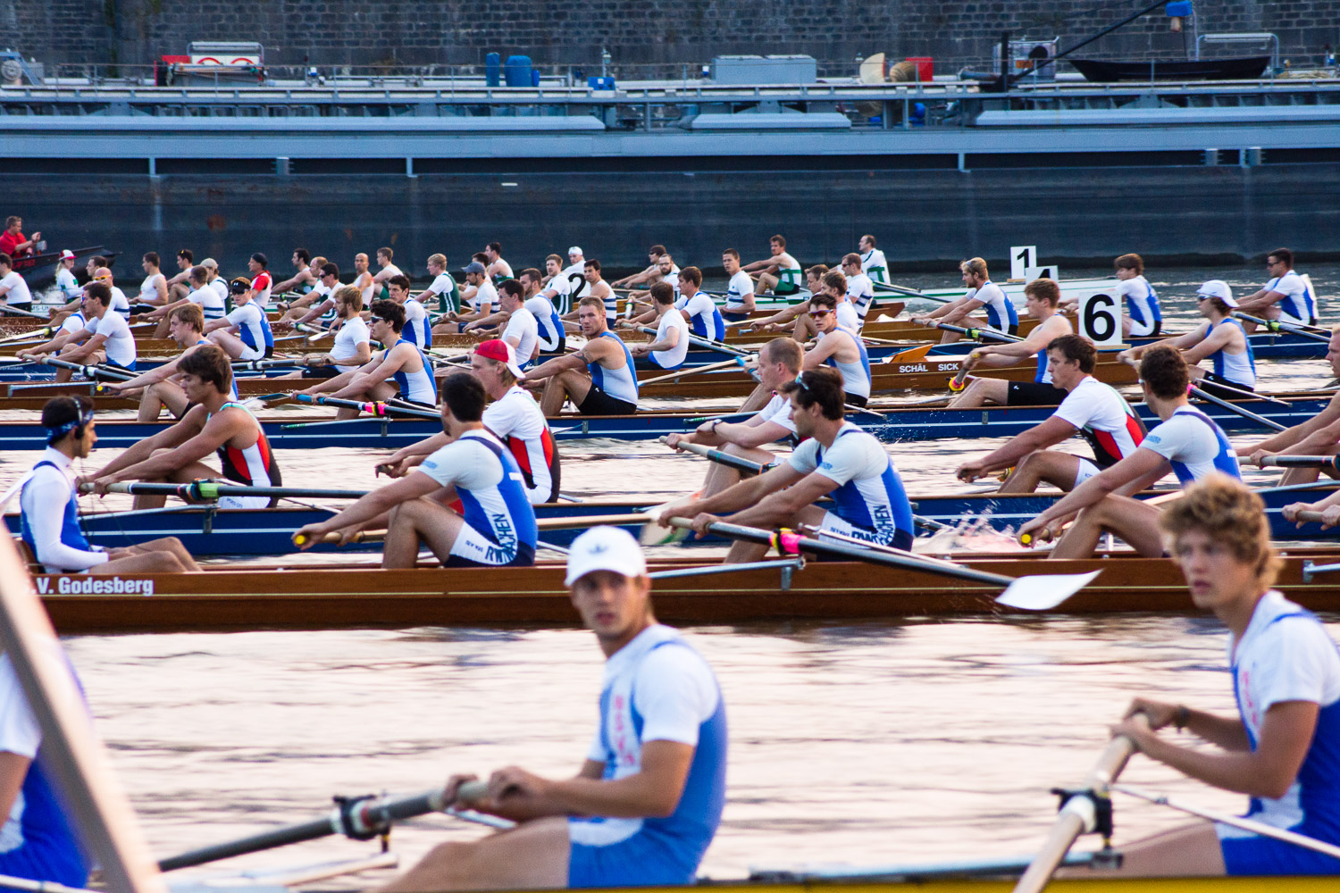 Cologne Men's Eight 2013 (by Paul Hense)