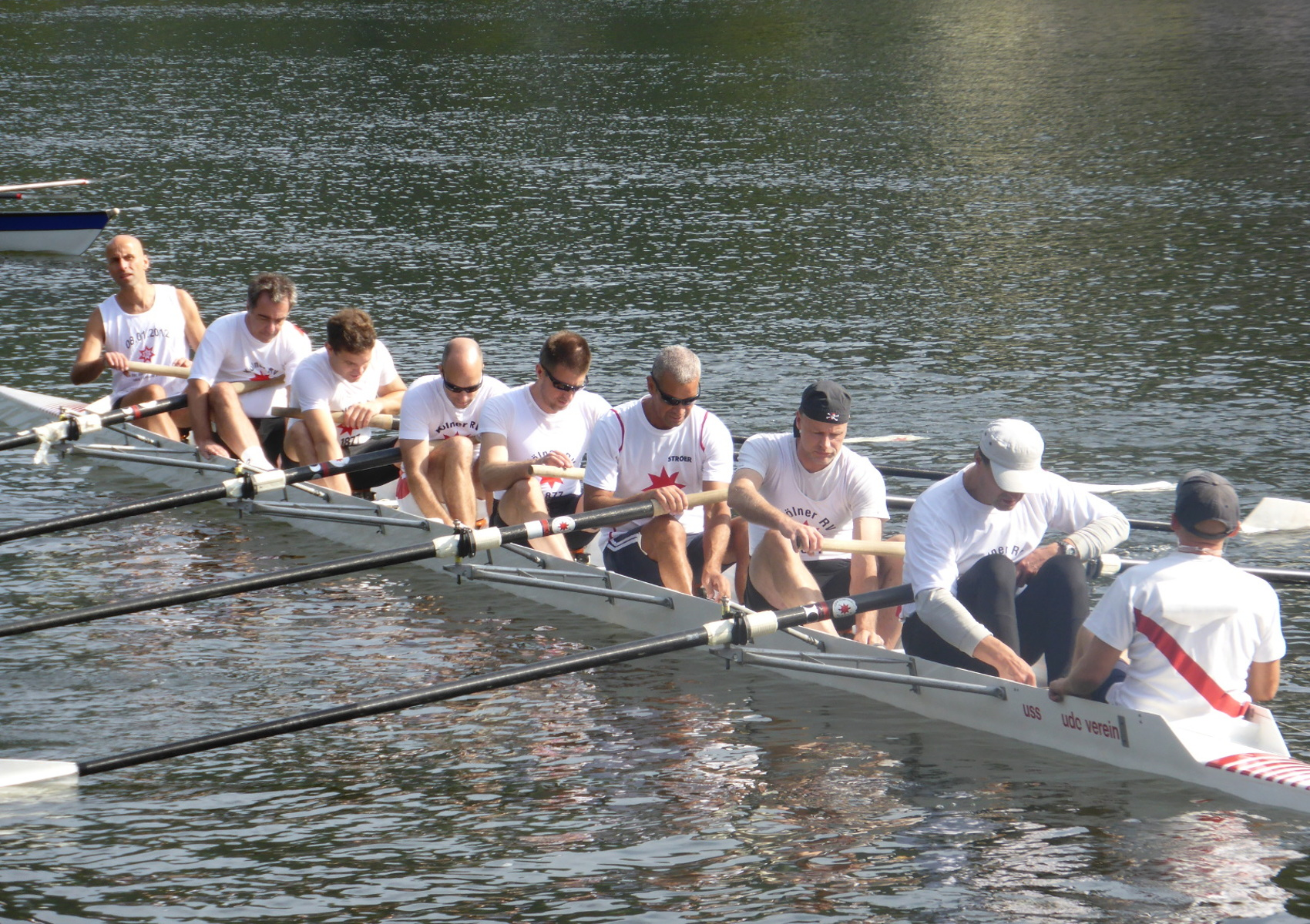 My rowing master team from Cologne